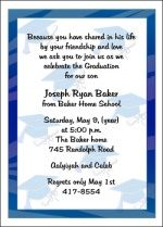 Personalized Invitation Announcement Stationery Card Wording Samples at GraduationCardsShop.com. For homeschool graduation of your home schooled graduate, you will want to begin planning for the ceremony invitations, celebrations, and announcements, which is why you can rely on educational stationery websites such as GraduationCardsShop.com for the latest styles, trends, and most popular designs for 2017.
