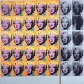 Kunststroming: Pop art. Naam schilder: Andy Warhol. Naam schilderij: Marilyn. Kenmerken: Op elk plekje van het schilderij staat hetzelfde hoofd. Ook heeft schilderij veel kleuren en lijkt op de realiteit.