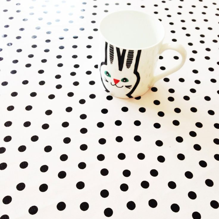 spotty oilcloth (half metre) via violet and percy. Click on the image to see more!