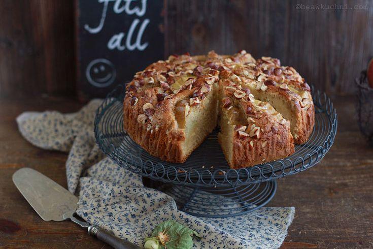 Kardamonowe ciasto z jabłkami | Bea w Kuchni