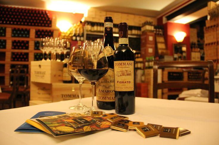 #Tommasi Amarone & Fiorato Recioto della Valpolicella #Tommasiwine #BottegadelGusto #VillaQuaranta www.villaquaranta.com