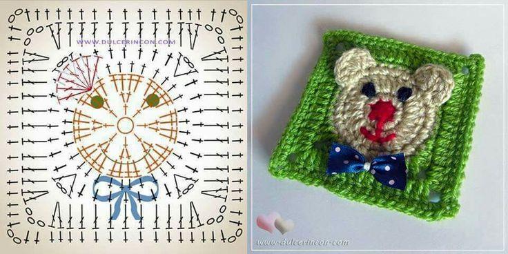 481 besten Granny square and African Flower crochet Bilder auf ...