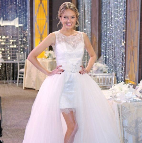 Y&R Wedding: All The Details On Abby's Gown