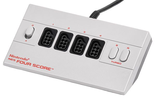 NES Four Score - Get ready to play RC Pro-Am II with up to four players!