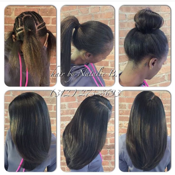 and versatile!....Hair by Natalie B. ---PERFECT PONY SEW-IN HAIR ...