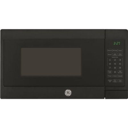 Ge 0.7 Cu.Ft. Countertop Microwave Oven, Black