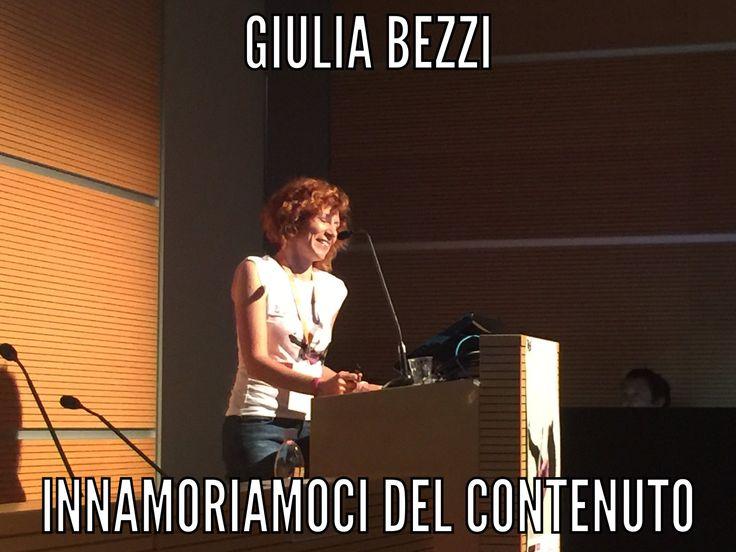 L'obiettivo di @GiuliaBezzi è innamorarsi del contenuto. #DigitaleRosa @Eurogiovani @socialmediacosi #seo https://t.co/lIXufwQTFj