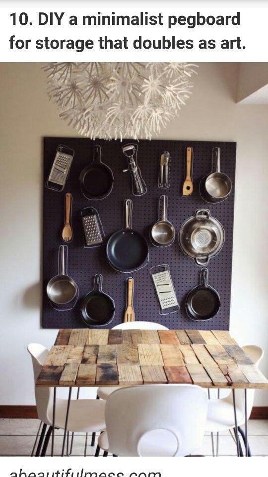 Interesting kitchen art