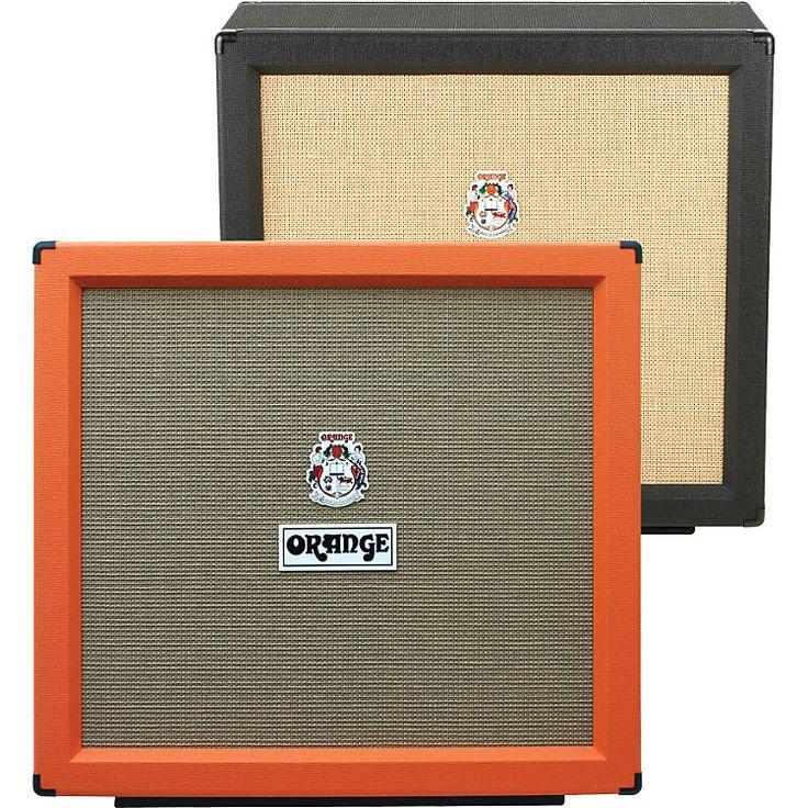 Orange AmplifiersPPC Series PPC412-HP 400W 4x12 Guitar Speaker CabinetBlackStraight