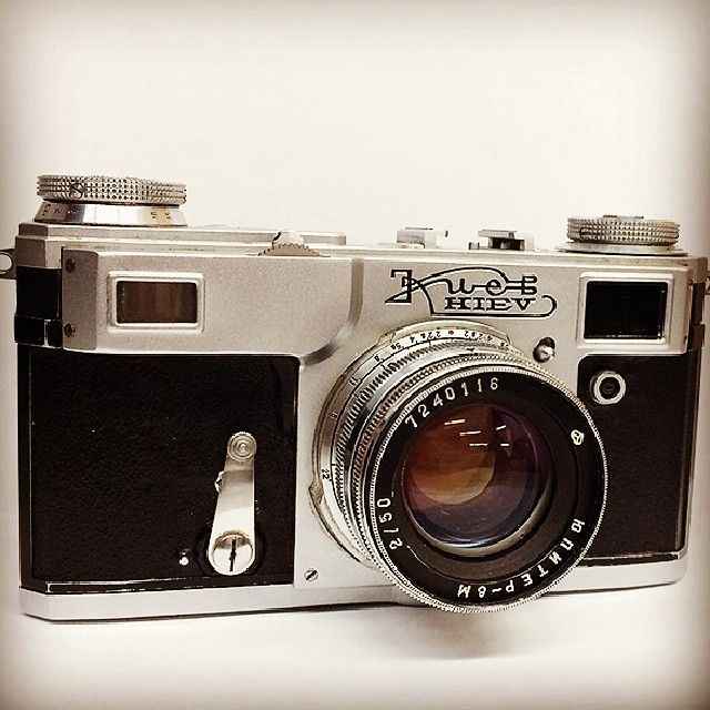 Kiev 4a, since 1947 by the ARSENAL plant.  #vintage #photography #camera