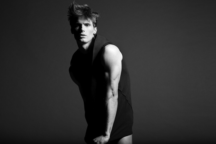 The best you can do is know yourself. Know what you want.: Test Shoot: Jonathan Nielssen wearing Rick Owens