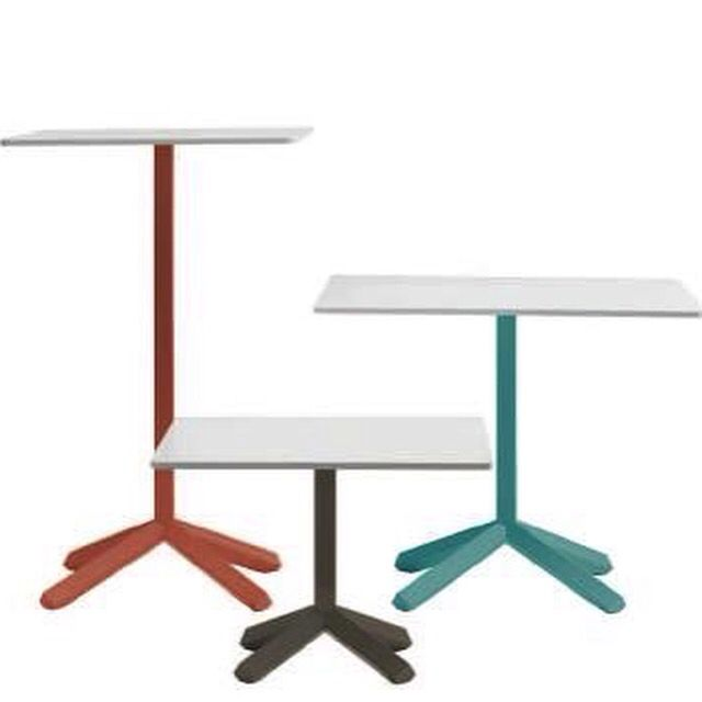 #ho.re.ca #tables Family designed by #LucaNichetto for #lab #emmegi