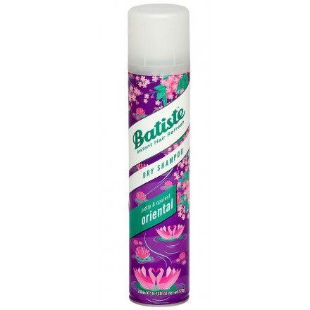 Suchy szampon Batiste pomoże Ci uzyskać fryzurę wyglądającą świeżo, nawet gdy nie masz czasu na szybkie mycie włosów. #suchy #szampon #batiste https://urodomania.com/suche-szampony/1091-batiste-dry-shampoo-suchy-szampon-oriental-200ml-5010724528105.html