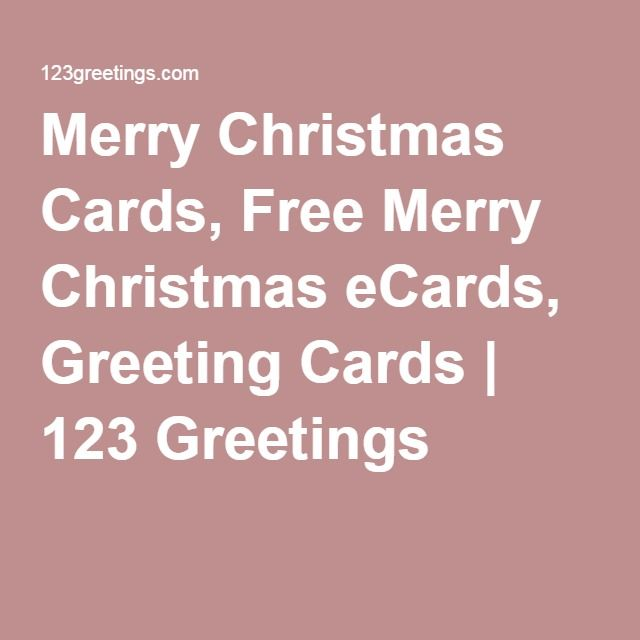 Merry Christmas Cards, Free Merry Christmas eCards, Greeting Cards | 123 Greetings