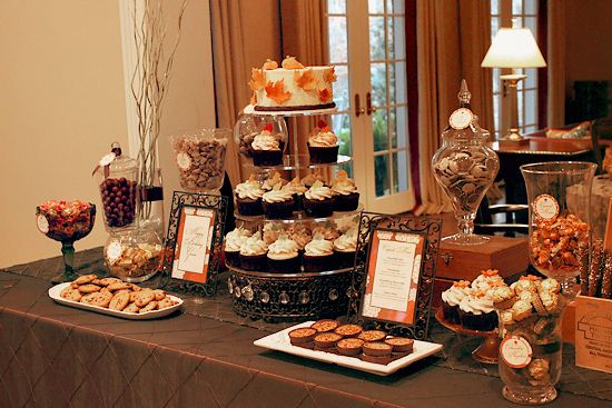 thanksgiving dessert table by the couture cakery via flickr fall idays pinterest dessert. Black Bedroom Furniture Sets. Home Design Ideas