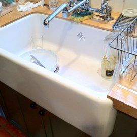 Shaw's Original Fireclay Sink