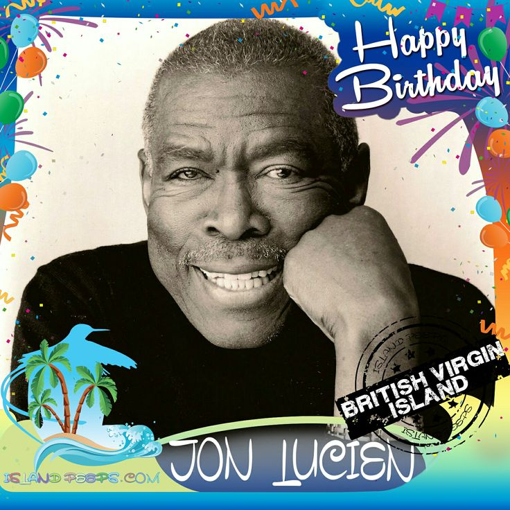 Happy Birthday Jon Lucien!!! Vocalist and Musician born in Tortola of the British Virgin Islands!!! Today we celebrate you!!! #JonLucien #islandpeeps #islandpeepsbirthdays #Rashida #Tortola #BVI