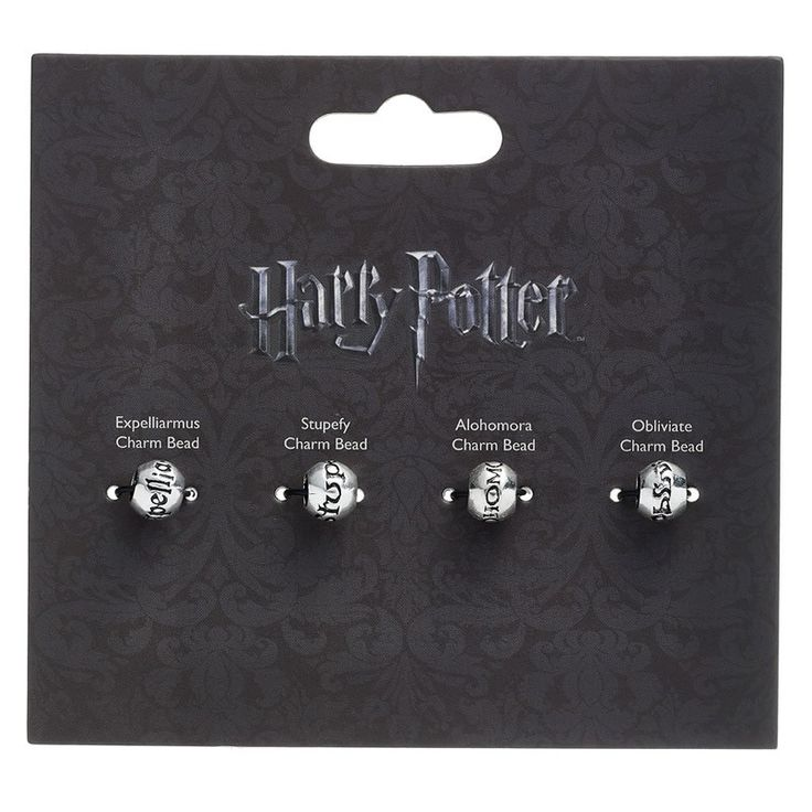 Set charm Harry Potter Incantesimi