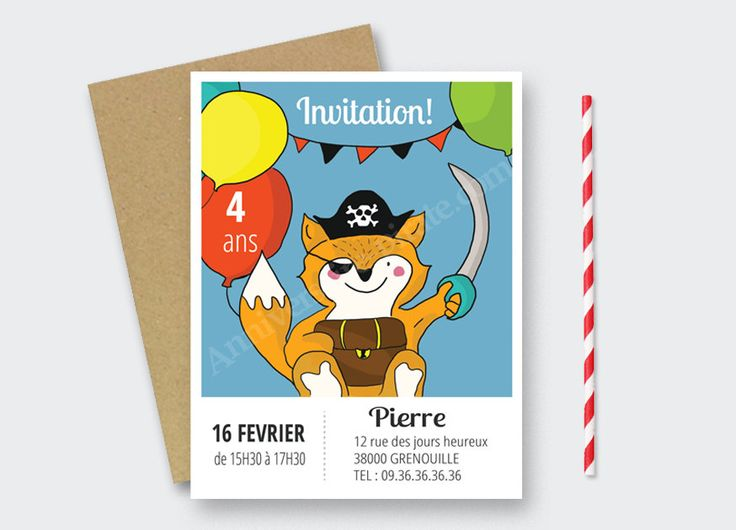 Les 20 meilleures images du tableau invitations anniversaire pirate sur pinterest anniversaire - Invitation anniversaire garcon pirate ...