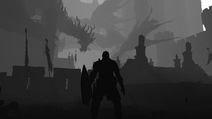 Znáte kreslenou plošinovku s temnou atmosférou Limbo a ještě temnější Dark Souls 3? Dovedete si představit kombinaci těchhle dvou her dohromady? Já doposud také ne.