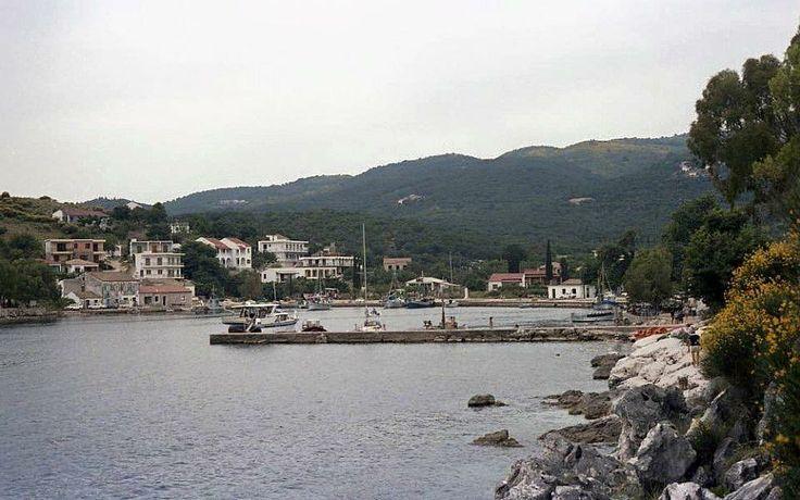 Kassiopi Corfu Greece in June 1978