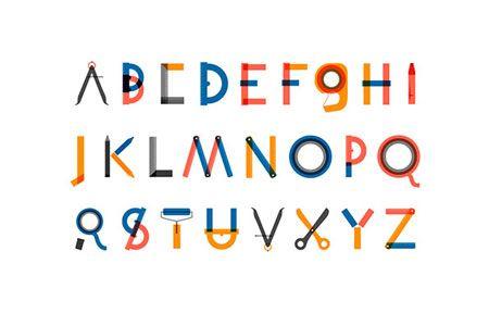 Custom typeface created for a Finnish illustration festival