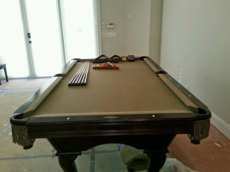 Slate Brunswick Pool Table #Brunswick