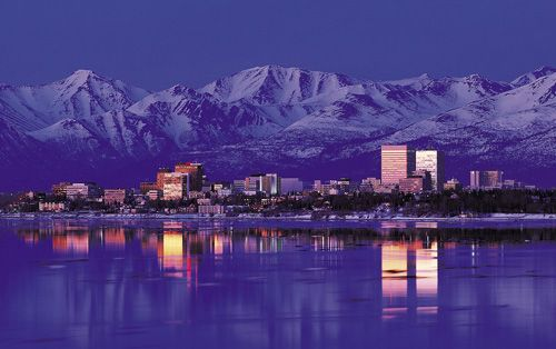Anchorage, Alaska - My parents lived here for 3 years before I was born.
