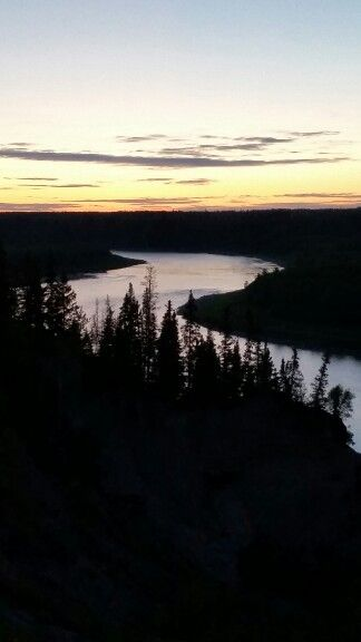 Saskatchewan River, near Horseshoe Bend