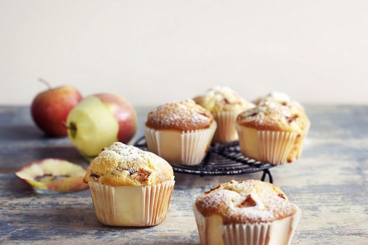 Glutenfrie eplemuffins