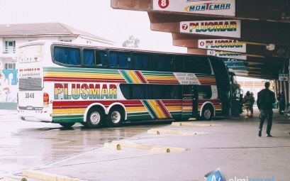 Reviewing Plusmar long distance bus from Buenos Aires to Pinamar.  #Plusmar #bus #Nelmitravel #transport #Pinamar #Retiro #travel