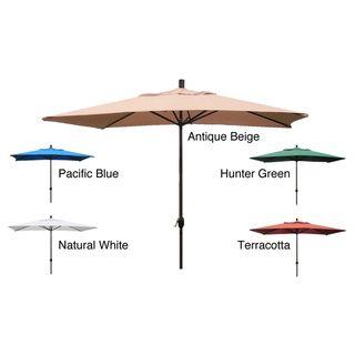 Premium 10' Rectangular Patio Umbrella | Overstock™ Shopping - Big Discounts on Patio Umbrellas $140