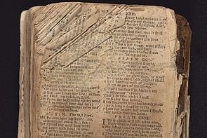 As Nat Turner led a bloody slave rebellion, he carried this bible