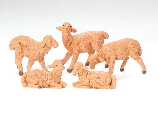 Brown Sheep, 5 pc set. 52539