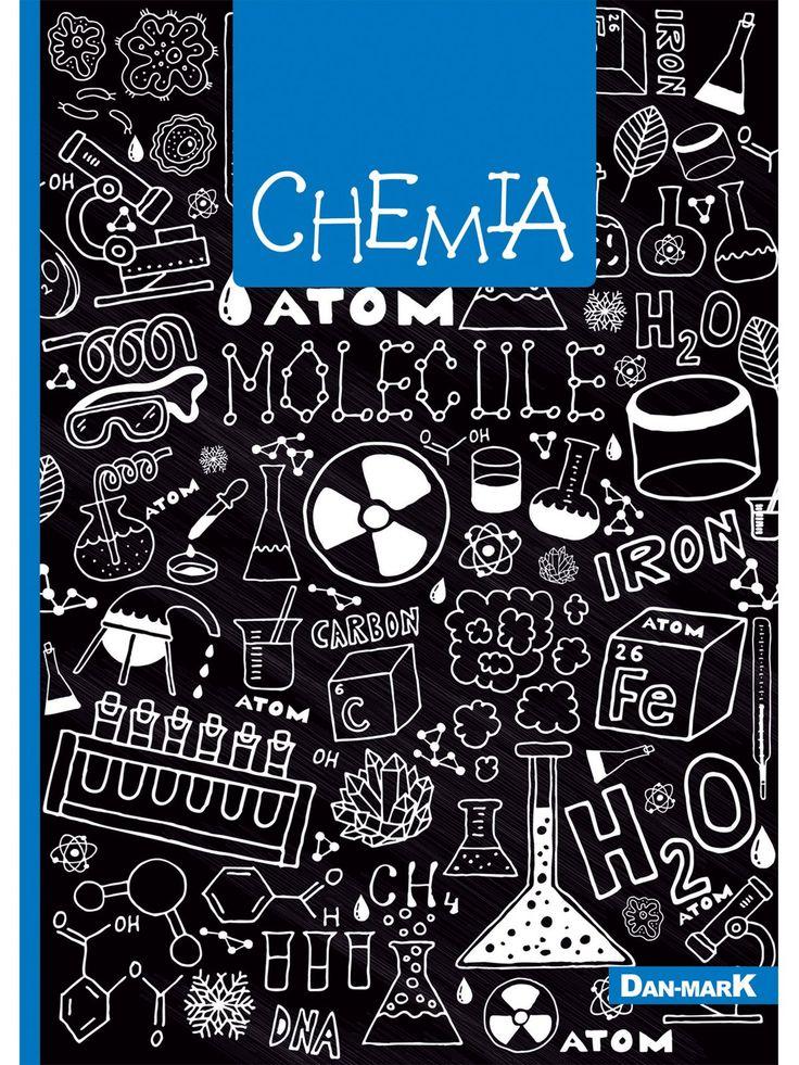 Zeszyt w kratkę, CHEMIA format A5, 80 kartek - 1106009KLFOA5 - art. szkolne - txm