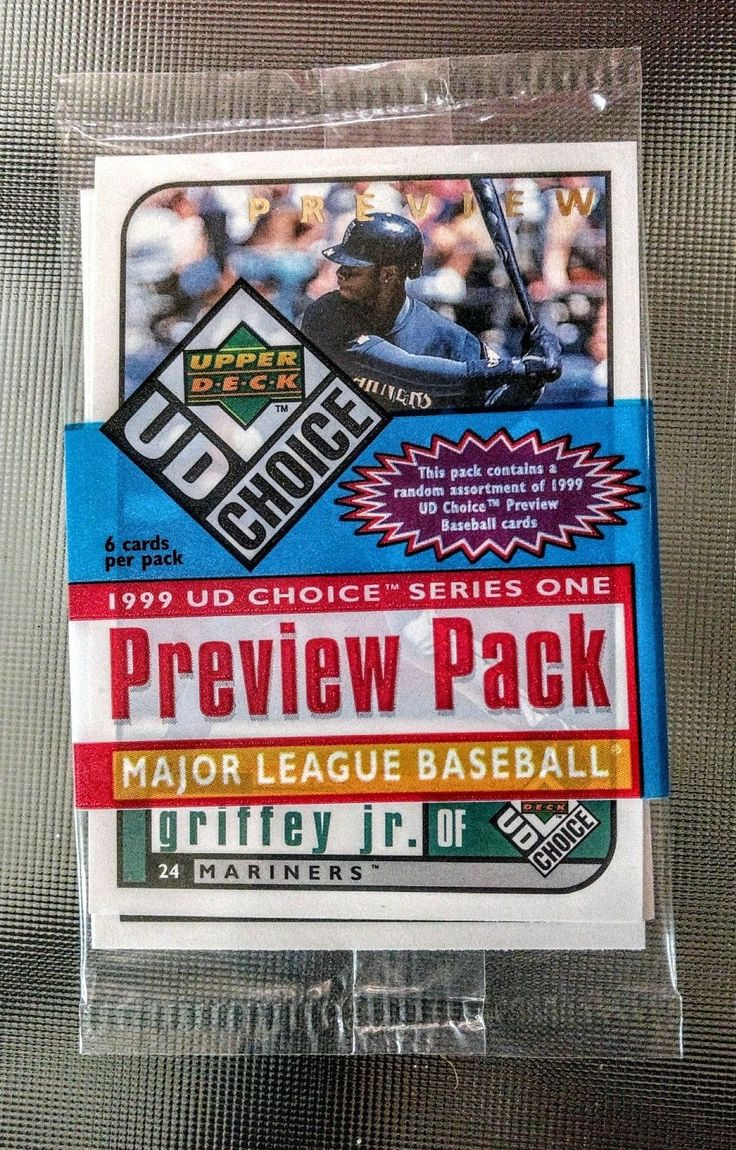 1999 Upper Deck UD Choice Preview #142 Ken Griffey Jr Seattle Mariners Jr. Card | eBay
