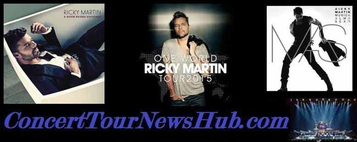 Ricky Martin 2015 One World Tour Schedule & Concert Tickets