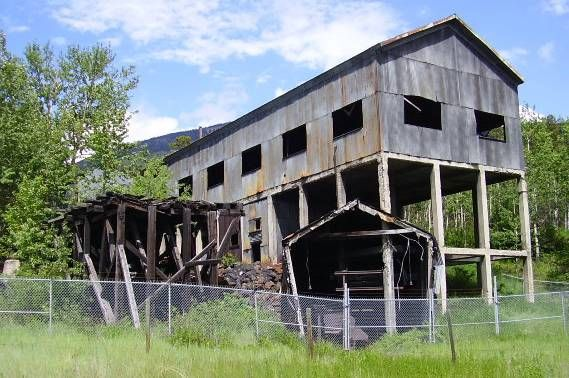 Greenhill Mine at Blairmore is one of a few remaining coal mining historical treasures in the Crowsnest Past at the southwest corner of Alberta, Canada.