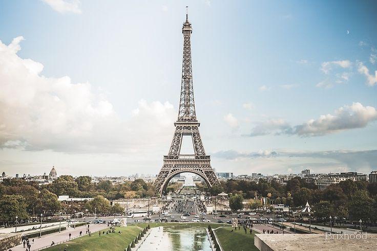 Eiffel Tower - Eiffelturm - Paris by Brixhood