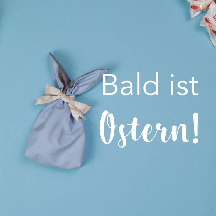 Hasenbeutel zu Ostern nähen / Freebie – Oster DIYs