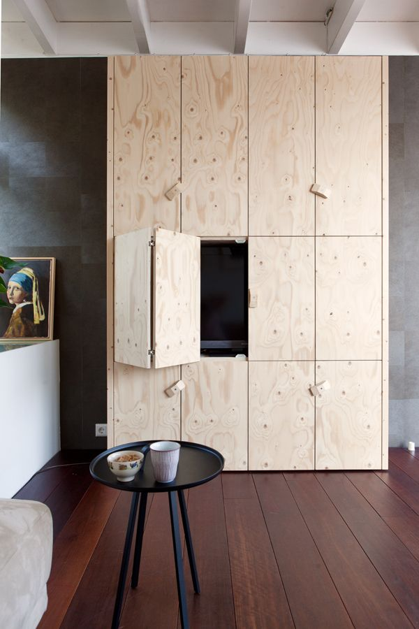I love this handmade closet of my interior designer Thomas van Cruijsen. jkf.nl