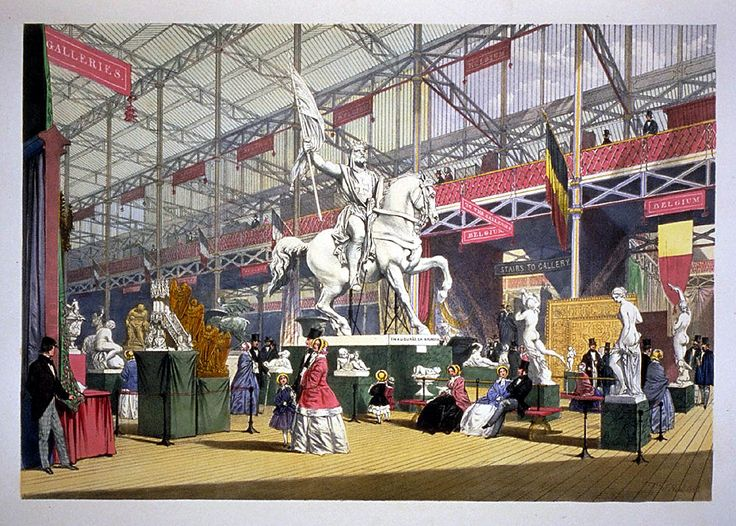 Revisiting the World's Fairs and International Expositions. Title: Dickinson's comprehensive pictures of the Great Exhibition of 1851 Author: Royal Commission Imprint: London: Dickinson Brothers, 1854