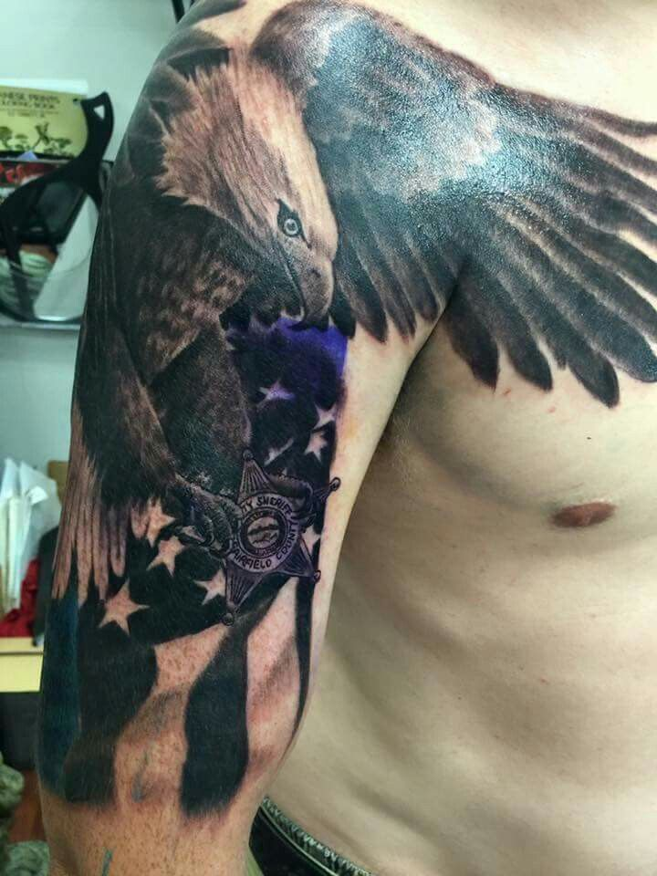 66 best law enforcement tattoos images on pinterest law for Law enforcement tattoos pictures