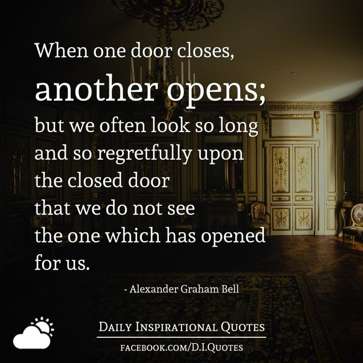 Quote When One Door Closes Another Opens: 25+ Best Alexander Graham Bell Quotes On Pinterest