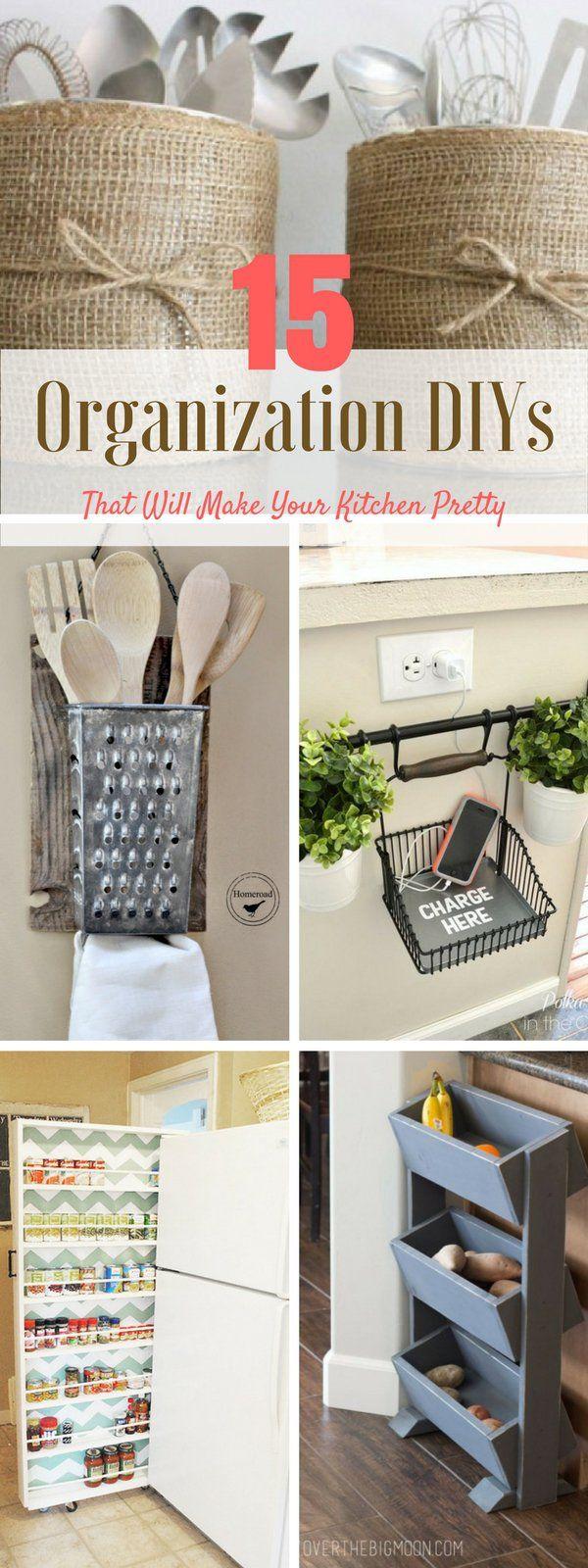Check out the 15 kitchen organization DIYs @istandarddesign