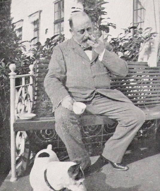 The Prince of Wales ( Bertie ) before he became Edward VII