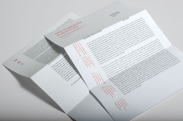 Mattenberger & Associés on Behance