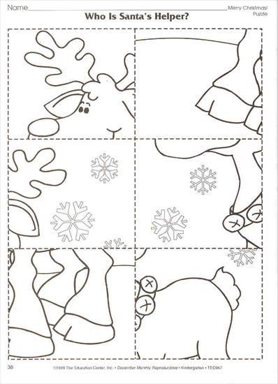 renna puzzle 6 pezzi