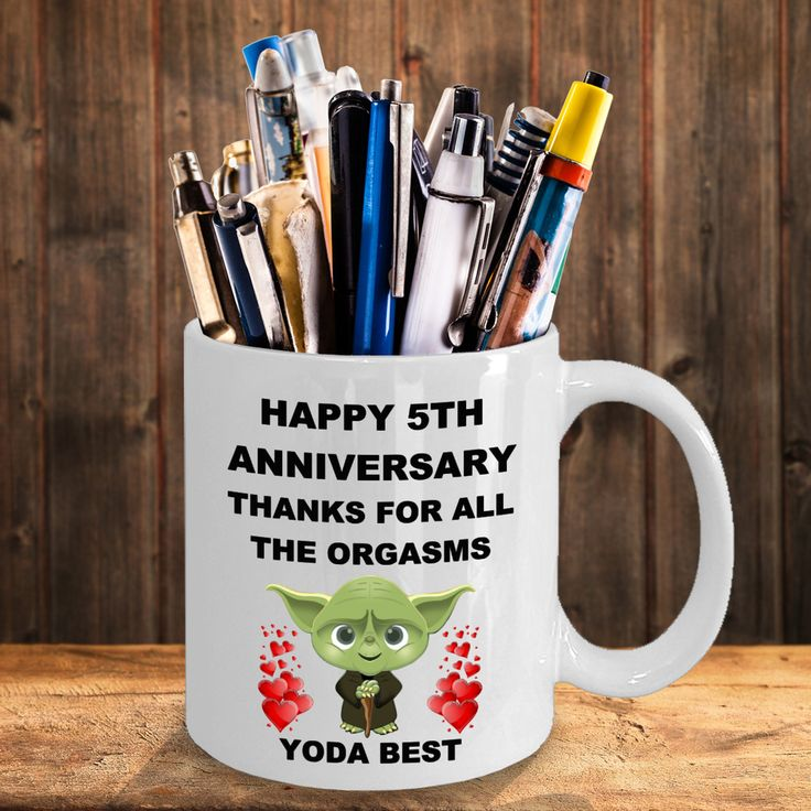 5 year 5th wedding anniversary funny gift for husband wife