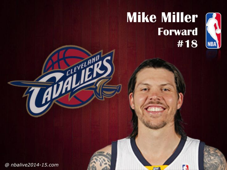 Mike Miller - Cleveland Cavaliers - 2014-15 Player. Great game tonight:)